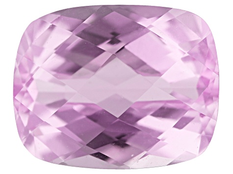Kunzite 3.98ct 10x8mm Rectangular Cushion Trtd Mined: Afghanistan / Cut: india