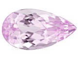 Kunzite 4.25ct 14x8mm Pear Trtd Mined: Afghanistan / Cut: india