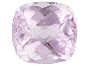 Kunzite 4.41ct 9.6x9.3mm Rectangular Cush Trtd Mined: Afghanistan / Cut: india