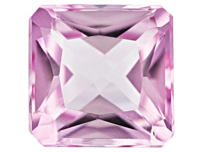 Kunzite 4.73ct 10mm Square Octagon Trtd Mined: Afghanistan / Cut: india
