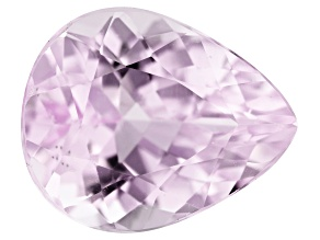 Kunzite 4.90ct 12x10mm Pear  Trtd Mined: Afghanistan / Cut: india