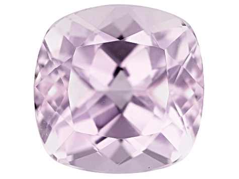 Kunzite 4.52ct 10mm Square Cushion  Trtd Mined: Afghanistan / Cut: india