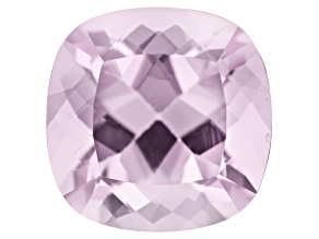 Kunzite 5.09ct 10mm Square Cushion  Trtd Mined: Afghanistan / Cut: india