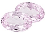 Kunzite 6.10ct 11x7.3mm Oval Trtd Mined: Afghanistan / Cut: india