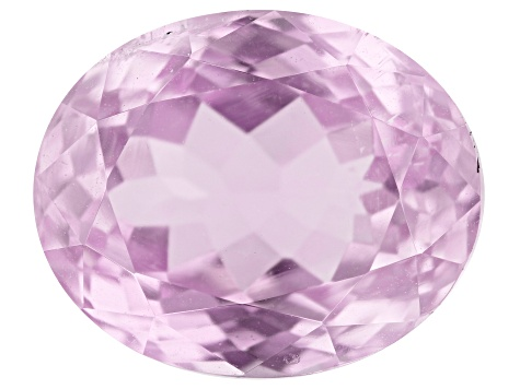 Kunzite 6.67ct 12x10mm Oval Trtd Mined: Afghanistan / Cut: india