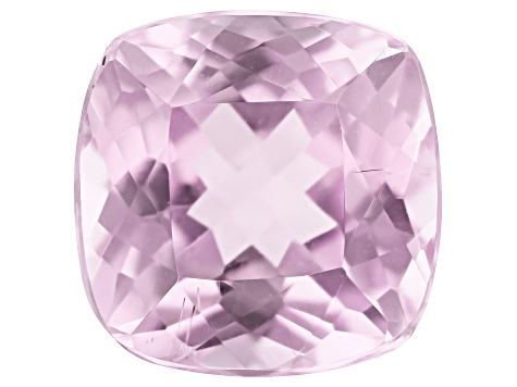 Kunzite 11mm Square Cushion 6.68ct
