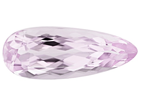 Kunzite 7.02ct 20x8mm Pear Trtd Mined: Afghanistan / Cut: india