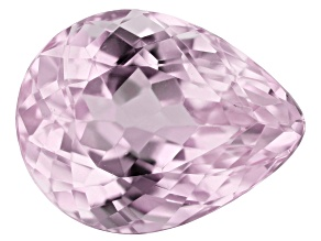 Kunzite 7.66ct 14x11mm Pear Trtd Mined: Afghanistan / Cut: india