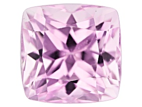 Kunzite 7.98ct 10.5x10.5mm Square Cushion Trtd Mined: Afghanistan / Cut: india