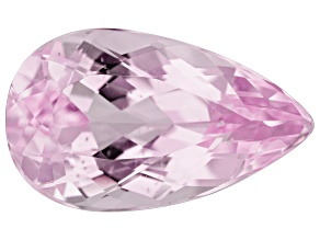 Kunzite 8.27ct 17x10mm Pear Trtd Mined: Afghanistan / Cut: india