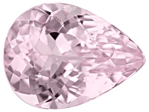 Kunzite 8.84ct 12x16mm Pear Trtd Mined: Afghanistan / Cut: india