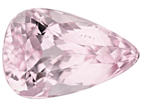 Kunzite 9.18ct 17x11mm Pear Trtd Mined: Afghanistan / Cut: india