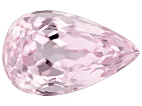 Kunzite 9.76ct 16.5x10.3mm Pear Trtd Mined: Afghanistan / Cut: india