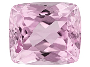 Kunzite 11.56ct 13.5x12.0mm Rec Cush Trtd Mined: Afghanistan / Cut: india
