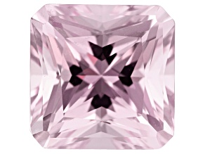 Kunzite 12.68ct 13mm Square Octagon Trtd Mined: Afghanistan / Cut: india
