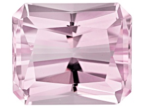 Kunzite 14x12mm Rectangular Octagonal Scissors Cut 13.31ct