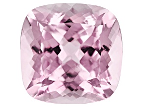 Kunzite 15.07ct 14.7mm Square Cushion Trtd Mined: Afghanistan/Cut: india