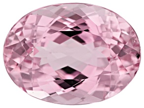 Kunzite 15.84ct 18x13.5mm Oval Trtd Mined: Afghanistan/Cut: india