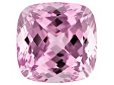 Kunzite 18.95ct 15mm Square Cush Trtd Mined: Afghanistan/Cut: india