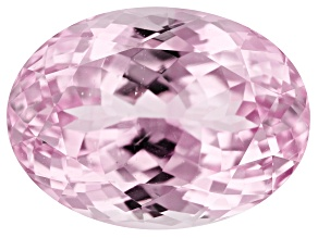 Kunzite 20.78ct 19x14mm Oval Trtd Mined: Afghanistan/Cut: india