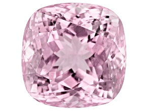 Kunzite 21.15ct 15mm Sq Cush Trtd Mined: Afghanistan/Cut: india