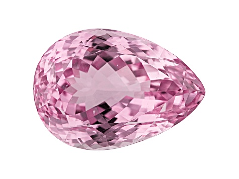 Kunzite 44.98ct 25x18mm Pear Trtd Mined: Afghanistan/Cut: india