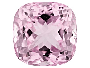 Kunzite 31.30ct 18mm Sq Cush Trtd Mined: Afghanistan/Cut: india