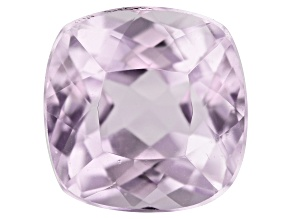 Kunzite 2.86ct 8mm Sq Cush Trtd Mined: Afghanistan/Cut: india