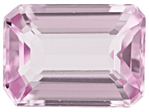 Kunzite 11x8mm Emerald Cut 3.68ct