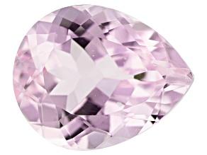 Kunzite 4.88ct 12x10mm Pear Trtd Mined: Afghanistan/Cut: india