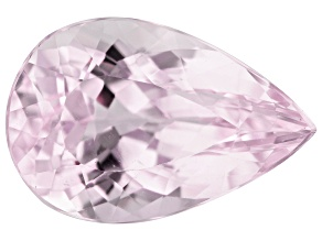 Kunzite 5.09ct 13.7x9mm Pear Trtd Mined: Afghanistan/Cut: india