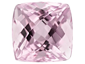 Kunzite 5.28ct 10mm Sq Cush Trtd Mined: Afghanistan/Cut: india