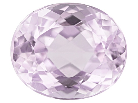 Kunzite 5.69ct Set Of 2:  12x10mm Oval Trtd Mined: Afghanistan/Cut: india