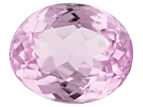 Kunzite 5.70ct 12x10mm Oval Trtd Mined: Afghanistan/Cut: india