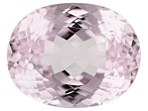 Kunzite 9.07ct 14x11mm Oval Trtd Mined: Afghanistan/Cut: india
