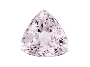 Kunzite 7.55ct 12mm Triangle Trtd Mined: Afghanistan/Cut: india