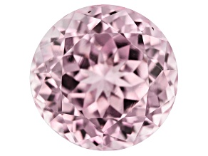 Kunzite 7.83ct 11mm Round Trtd Mined: Afghanistan/Cut: india
