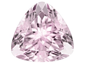 Kunzite 8.08ct 13x12.7mm Triangle Trtd Mined: Afghanistan/Cut: india