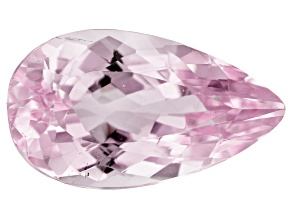 Kunzite 8.67ct 18x10mm Pear Trtd Mined: Afghanistan/Cut: india