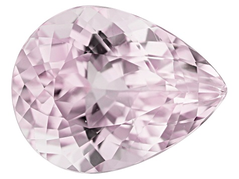 Kunzite 9.44ct 15.7x12mm Pear Trtd Mined: Afghanistan/Cut: india