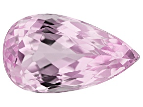 Kunzite 9.60ct 17.5x10mm Pear Trtd Mined: Afghanistan/Cut: india