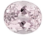 Kunzite 10.34ct 14.3x12mm Oval Trtd Mined: Afghanistan/Cut: india