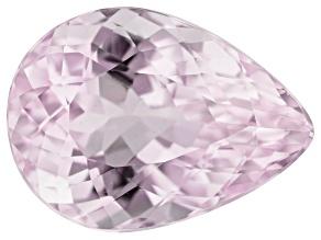 Kunzite 10.48ct 16.5x12mm Pear Trtd Mined: Afghanistan/Cut: india