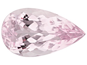 Kunzite 11.87ct 20x15mm Pear Trtd Mined: Afghanistan/Cut: india