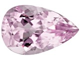 Kunzite 13.12ct 20x13mm Pear Trtd Mined: Afghanistan/Cut: india