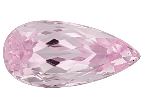 Kunzite 16.92ct 23x11mm Pear Trtd Mined: Afghanistan/Cut: india