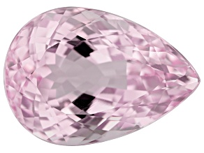 Kunzite 19.22ct 20x14.3mm Pear Trtd Mined: Afghanistan/Cut: india