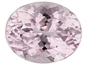 Kunzite 22.51ct 21x16mm Oval Trtd Mined: Afghanistan/Cut: india