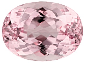 Kunzite 22.59ct 20x15mm Oval Trtd Mined: Afghanistan/Cut: india