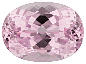 Kunzite 23.27ct 20x15mm Oval Trtd Mined: Afghanistan/Cut: india